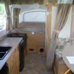 Avalon Pop Up Camper Interior