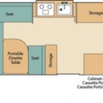 Coleman Pop Up Camper Westlake Floorplan