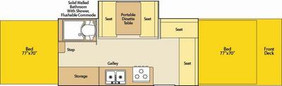 Coleman Evolution Series E4 Floor Plan Pop Up Camper Reviews